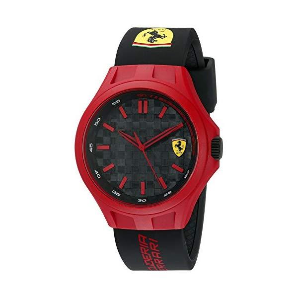 フェラーリ 腕時計 Ferrari 830287 ウォッチ Ferrari 830287 Pit Crew Analog Display Quartz Black Watch