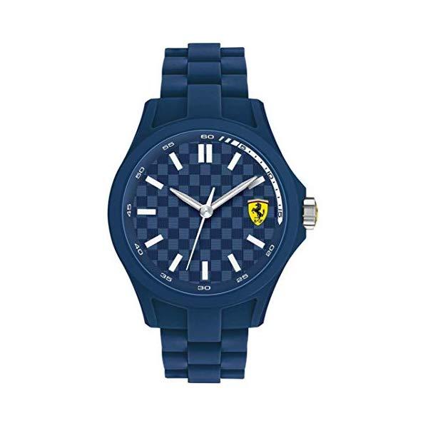 フェラーリ 腕時計 Ferrari 830196 ウォッチ スクーデリア メンズ 男性用 Ferrari Scuderia 830196 Pit Crew Mens Watch - Blue Dial