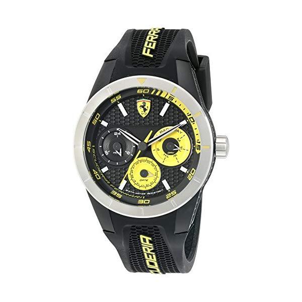 フェラーリ 腕時計 Ferrari 830257 ウォッチ Ferrari 830257 'RED REV T MULTI' Quartz Resin and Silicone Watch