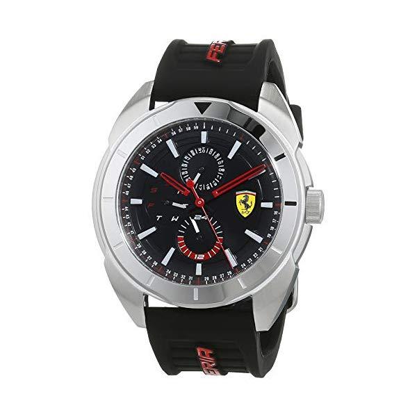 フェラーリ 腕時計 Ferrari 830546 ウォッチ スクーデリア メンズ 男性用 Scuderia Ferrari Forza 44 mm Multifunction Men's Watch