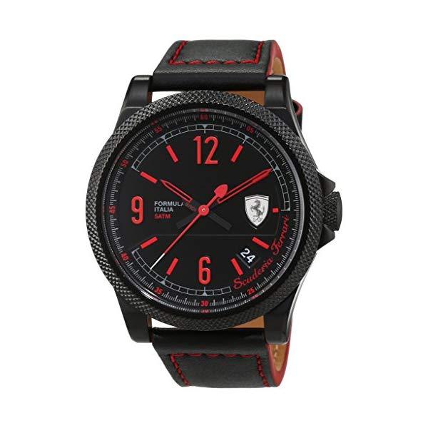 フェラーリ 腕時計 Ferrari 830271 ウォッチ メンズ 男性用 Ferrari Mens Analog Dress Quartz Watch NWT 0830271