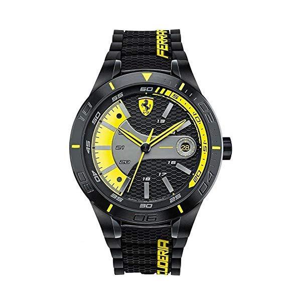 フェラーリ 腕時計 Ferrari 830266 ウォッチ メンズ 男性用 Ferrari Red Rev Evo Men's Quartz Watch 830266