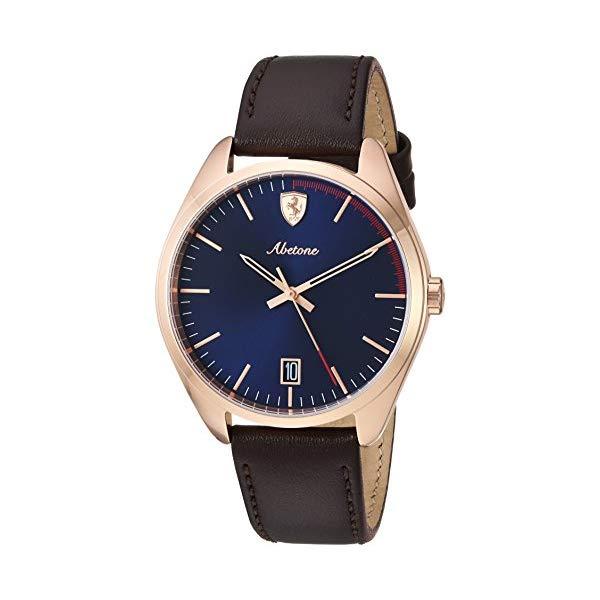 フェラーリ 腕時計 Ferrari 830500 ウォッチ メンズ 男性用 Ferrari Men's 0830500 Abetone Analog Display Quartz Brown Watch