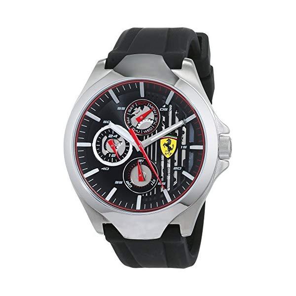 フェラーリ 腕時計 Ferrari 830510 ウォッチ スクーデリア メンズ 男性用 Scuderia FERRARI AERO Multifunction 46 mm Men's Watch