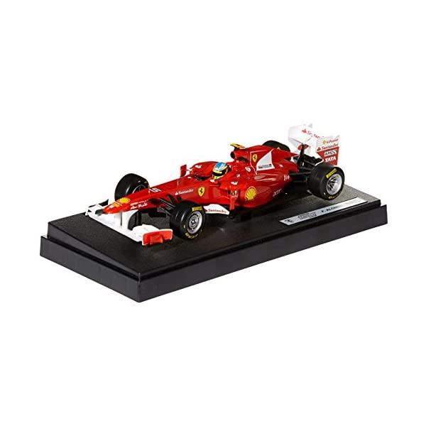 フェラーリ モデルカー ダイキャスト 模型 ミニカー グッズ 納車祝い プレゼント インテリア スーパーカー Hot wheels W1073 Ferrari 150 Italia F2011 Fernando Alonso 1/18 Diecast Car Model by Hotwheels