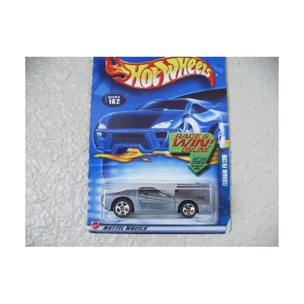 フェラーリ ホットウィール モデルカー ダイキャスト 模型 ミニカー グッズ 納車祝い 賜物 プレゼント Ferrari Hot インテリア Wheels 2002 F512m 在庫あり スーパーカー #162