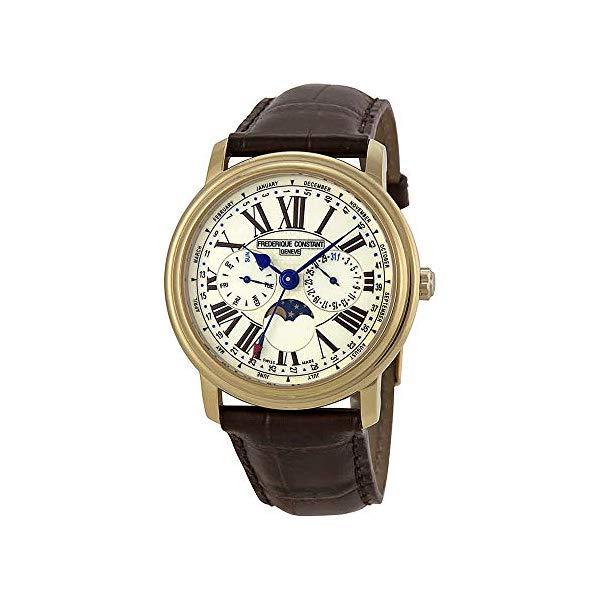 フレデリックコンスタント 腕時計 Frederique Constant FC-270EM4P5 ウォッチ メンズ 男性用 Frederique Constant Classics White Dial Leather Strap Men's Watch FC270EM4P5