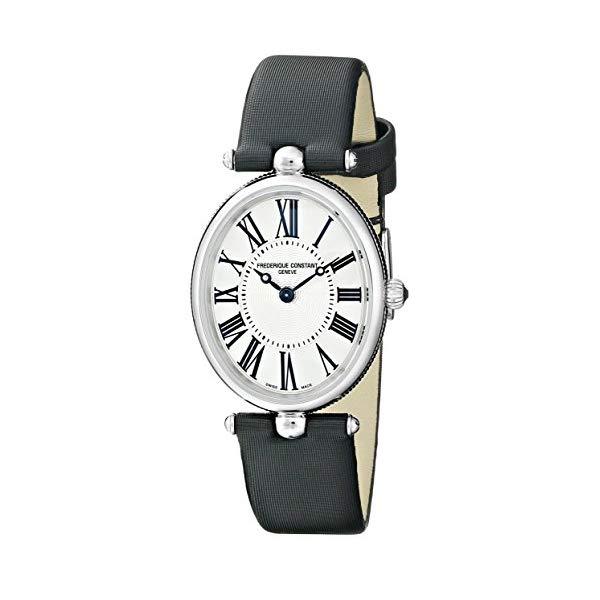 フレデリックコンスタント 腕時計 Frederique Constant FC200MPW2V6 ウォッチ レディース 女性用 Frederique Constant Women's FC200MPW2V6 Art Deco Analog Display Swiss Quartz Black Watch