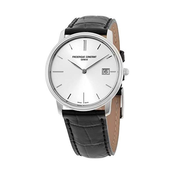 フレデリックコンスタント 腕時計 Frederique Constant FC220NS4S6 ウォッチ メンズ 男性用 Frederique Constant Men's FC220NS4S6 Slim Line Slim Line Mens Black Leather Strap Watch Watch