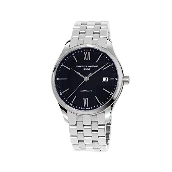 フレデリックコンスタント 腕時計 Frederique Constant FC-303BN5B6B ウォッチ メンズ 男性用 Frederique Constant Men's Classics Index Automatic-self-Wind Watch with Strap, Stainless Steel, 20 (Model: FC-303BN5B6B)