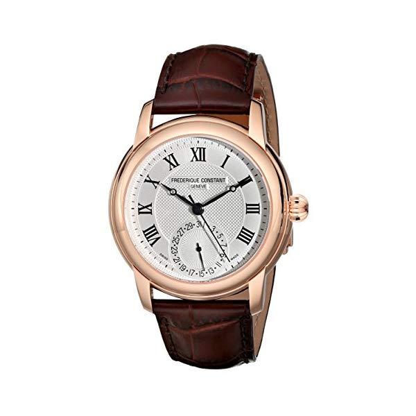 フレデリックコンスタント 腕時計 Frederique Constant FC-710MC4H4 ウォッチ メンズ 男性用 Frederique Constant Men's FC-710MC4H4 Maxime Dark Brown Leather Strap Watch