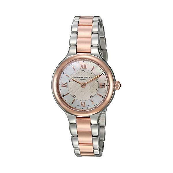 フレデリックコンスタント 腕時計 Frederique Constant FC-281WH3ER2B ウォッチ レディース 女性用 Frederique Constant Women's Horological Smart Watch Swiss-Quartz Stainless-Steel Strap, Two Tone, 7 (Model: FC-281WH3ER2B)