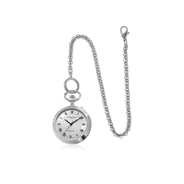 フレデリックコンスタント 腕時計 Frederique Constant FC-700MC6PW6 Frederique Constant Manufacture Silver Dial Pocket Watch FC-700MC6PW6