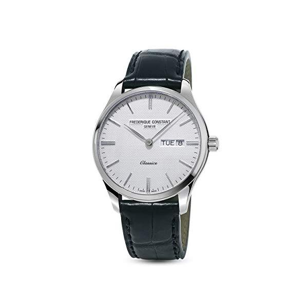 フレデリックコンスタント 腕時計 Frederique Constant FC-225ST5B6 ウォッチ メンズ 男性用 Frederique Constant Classics Silver Dial Leather Strap Men's Watch FC225ST5B6
