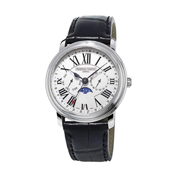 フレデリックコンスタント 腕時計 Frederique Constant FC-270M4P6 ウォッチ メンズ 男性用 Frederique Constant Classics White Dial Leather Strap Men's Watch FC270M4P6