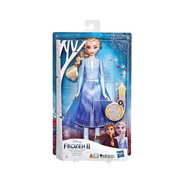 アナと雪の女王2 おもちゃ 人形 ドール フィギュア ディズニー New Light UP ELSA Frozen 2, Magical Swirling Adventure, Approx 12