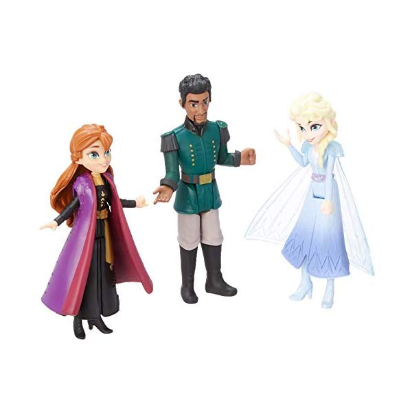 アナと雪の女王2 エルサ アナ マティアス おもちゃ 小さい 人形 スモールドール フィギュア ディズニー Disney Frozen Anna, Elsa, Mattias Small Dolls Pack Inspired by The Frozen Movie