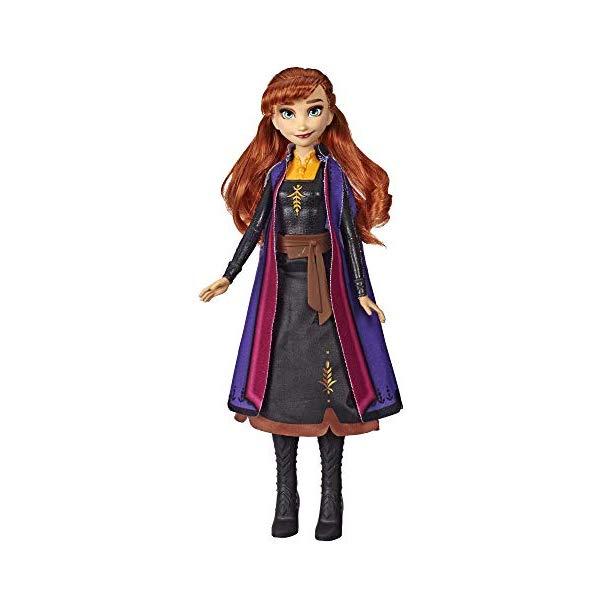 アナと雪の女王2 アナ おもちゃ 人形 ドール フィギュア ディズニー Disney Frozen Anna Autumn Swirling Adventure Fashion Doll That Lights Up, Inspired by The Frozen Movie Toy for Kids Years Old Up