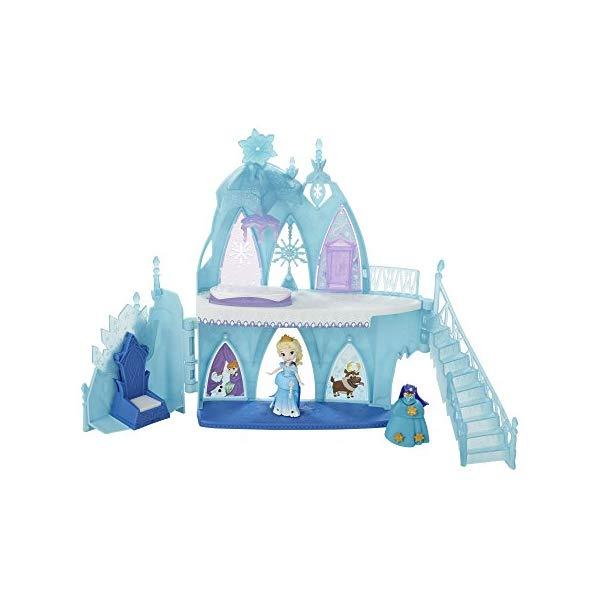 アナと雪の女王2 エルサ 氷の城 おもちゃ 人形 ドール 割引 フィギュア ディズニー Little Elsa's Castle Kingdom Disney Frozen 新品未使用正規品