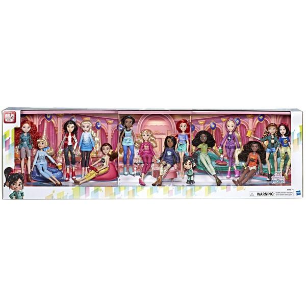 ディズニープリンセス 14体セット アナと雪の女王2 おもちゃ 人形 ドール フィギュア  ディズニープリンセス 14体セット アナと雪の女王2 おもちゃ 人形 ドール フィギュア Disney Princess Ralph Breaks The Internet Movie Dolls with Comfy Clothes Accessories, 14 Doll Ultimate Multipack