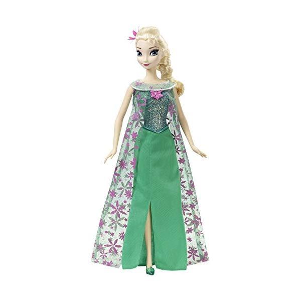 アナと雪の女王 エルサ 歌う おもちゃ 人形 ドール フィギュア ディズニー Disney Frozen Fever Singing Elsa Doll