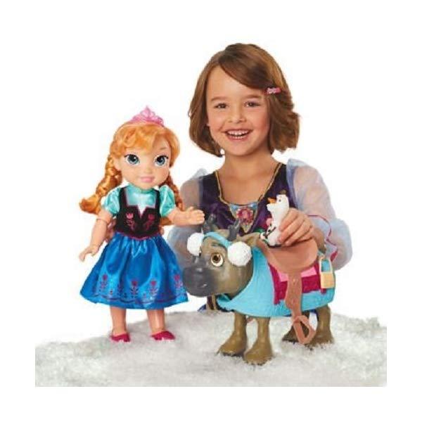 アナと雪の女王2 アナ オラフ スヴェン おもちゃ 人形 ドール フィギュア ディズニー  アナと雪の女王2 アナ オラフ スヴェン おもちゃ 人形 ドール フィギュア ディズニー Disney Frozen Doll Set Friends Collection [Anna, Olaf Sven with Earmuffs]