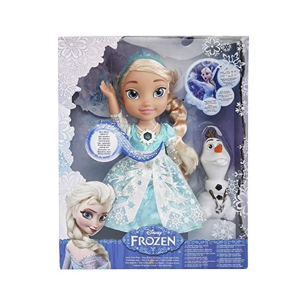アナと雪の女王2 エルサ おもちゃ 人形 ドール フィギュア ディズニー Disney Frozen Snow Glow Elsa Singing Doll (Discontinued by manufacturer)