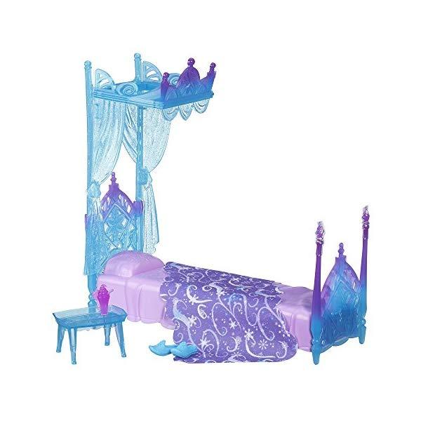 アナと雪の女王2 氷 天蓋 ベッド おもちゃ 人形 ドール フィギュア ディズニー Disney Frozen Icicle Canopy Bed Set