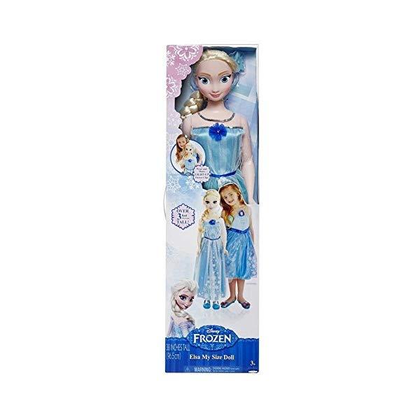 アナと雪の女王2 エルサ おもちゃ 人形 ドール フィギュア ディズニー  アナと雪の女王2 エルサ おもちゃ 人形 ドール フィギュア ディズニー Disney Frozen My Size Elsa
