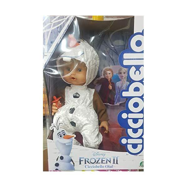 アナと雪の女王2 オラフ おもちゃ 人形 ドール フィギュア ディズニー Giochi Preziosi Cicciobello Olaf, Disney Frozen 2