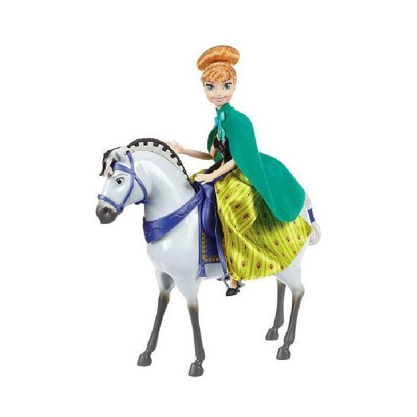 アナと雪の女王2 アナ おもちゃ 人形 ドール フィギュア ディズニー  アナと雪の女王2 アナ おもちゃ 人形 ドール フィギュア ディズニー Disney Frozen Anna Doll with Royal Horse
