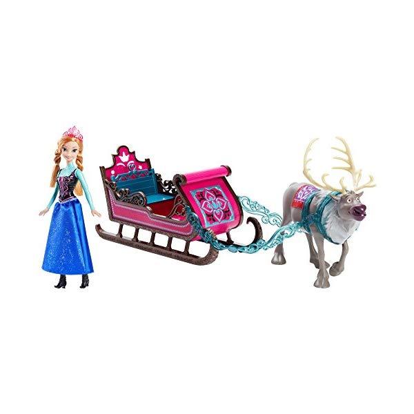 アナと雪の女王2 アナ おもちゃ 人形 ドール フィギュア ディズニー Disney Frozen Anna's Sleigh Gift Set