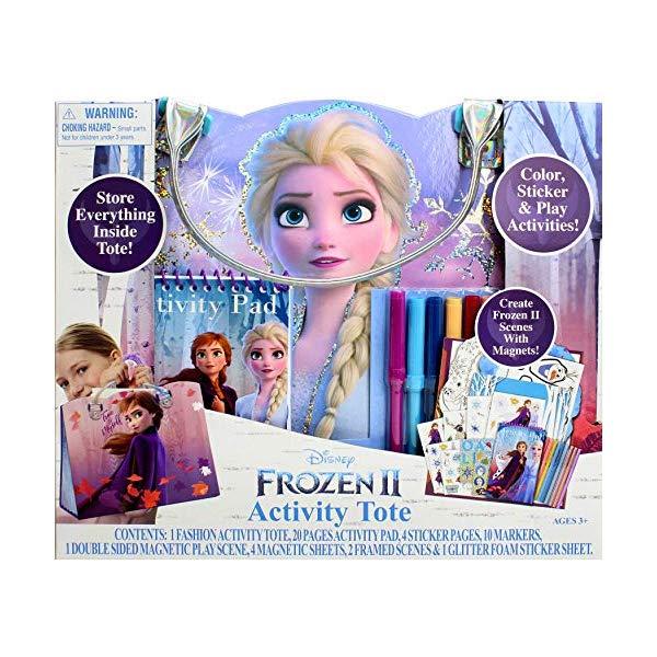 アナと雪の女王2 アクティビティ トートバッグ おもちゃ グッズ  アナと雪の女王2 アクティビティ トートバッグ おもちゃ グッズ Frozen 2 Activity Tote