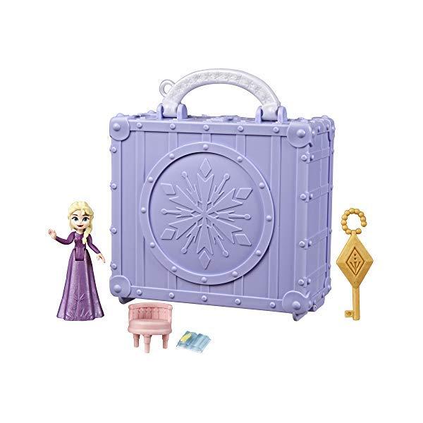 アナと雪の女王2 エルサ エルサ 部屋 持ち運び お出かけ プレイセット おもちゃ グッズ Disney Frozen Pop Adventures Elsa's Bedroom Pop-Up Playset with Handle, Including Elsa Doll, Diary, Chair, & Blanket Accessories