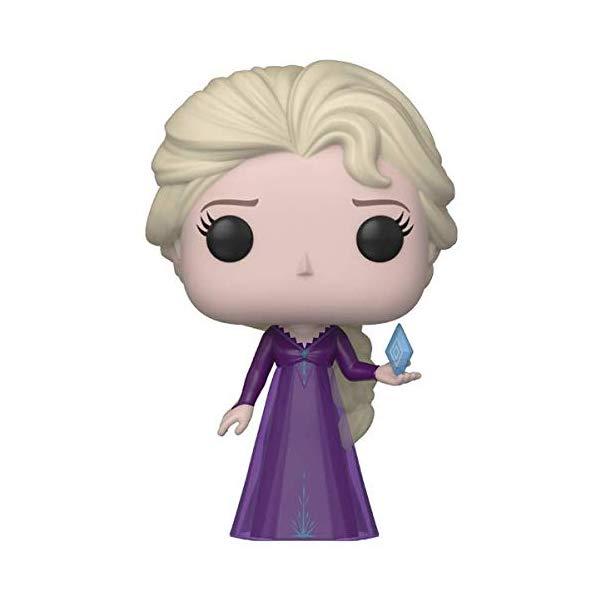 アナと雪の女王2 エルサ ファンコ ポップ フィギュア 人形 ドール おもちゃ グッズ Funko Pop! Disney Frozen 2 Elsa in Nightgown with Ice Diamond