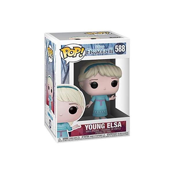 アナと雪の女王2 エルサ ファンコ ポップ フィギュア 人形 ドール おもちゃ グッズ Funko Pop! Disney Frozen 2 Young Elsa