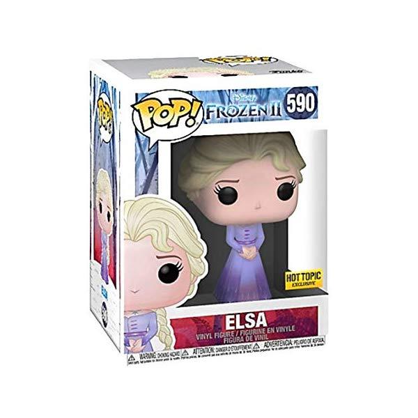 アナと雪の女王2 エルサ ファンコ ポップ フィギュア 人形 ドール おもちゃ グッズ Funko Pop! Disney Frozen 2 Elsa #590 Exclusive
