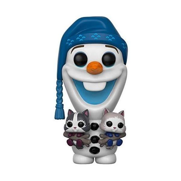 アナと雪の女王 オラフ ファンコ ポップ フィギュア 人形 ドール おもちゃ グッズ Funko Pop Disney Olaf's Frozen Advenutre Olaf with Cats Collectible Vinyl Figure