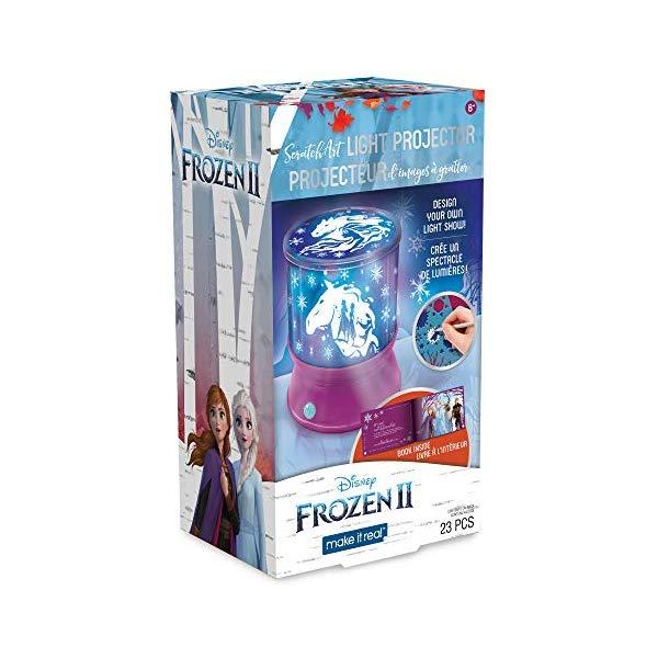 アナと雪の女王2 スターライト プロジェクター ライト 自作 工作 おもちゃ グッズ Make It Real Disney Frozen 2 Starlight Projector - DIY Ceiling Projector for Girls - Illuminates Kids Bedrooms with Scenes from Disney's Frozen 2