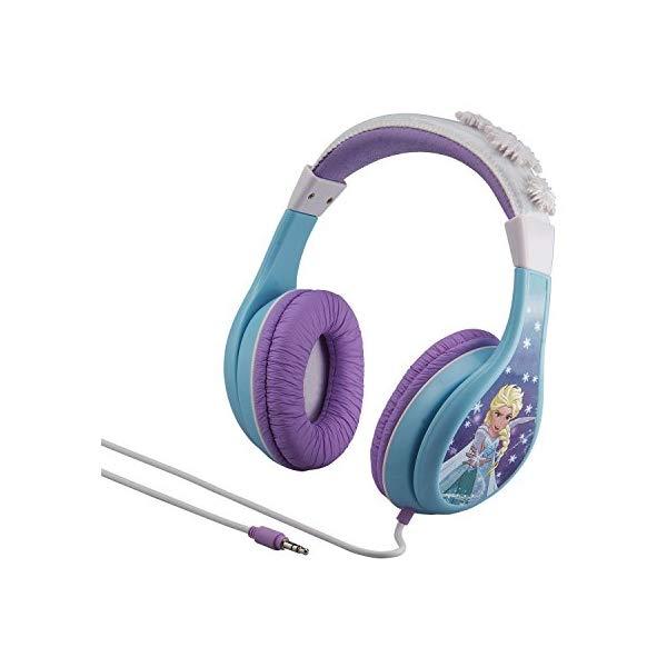 アナと雪の女王 ヘッドフォン イヤホン 音楽 キッズ 子供用 女の子 おもちゃ グッズ KIDdesigns Frozen Cool Tunes Headphones (FR140)