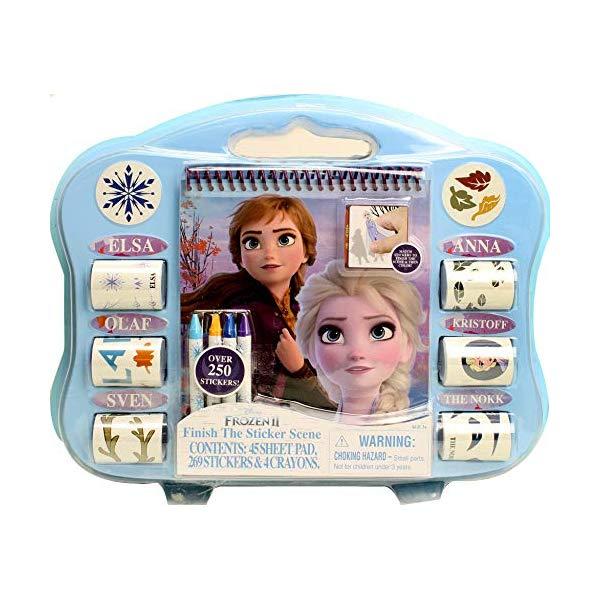 アナと雪の女王3 ぬりえ ステッカー シール セット おもちゃ グッズ Frozen 2 Finish The Scene