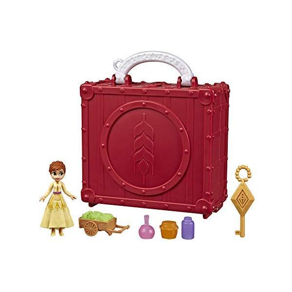 アナと雪の女王2 アナ プレイセット フィギュア ドール 人形 持ち運び お出かけ おもちゃ グッズ Disney Frozen Pop Adventures Village Set Pop-Up Playset with Handle, Including Anna Small Doll Inspired by The Frozen 2 Movie