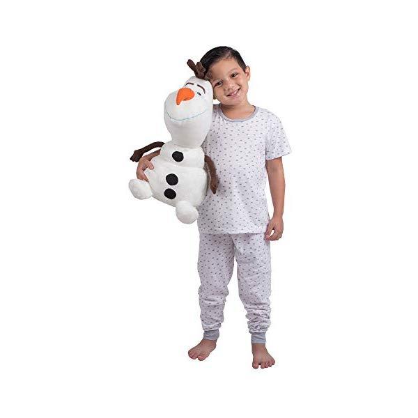 アナと雪の女王2 オラフ 大きい ぬいぐるみ 抱き枕 クッション 寝具 グッズ Franco Kids Bedding Super Soft Plush Snuggle Cuddle Pillow, One Size, Disney Frozen 2 Olaf