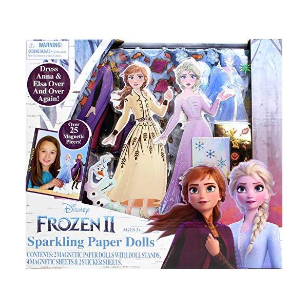 アナと雪の女王2 エルサ アナ 着せ替え ペーパードール おもちゃ グッズ Frozen 2 Sparkling Paper Dolls