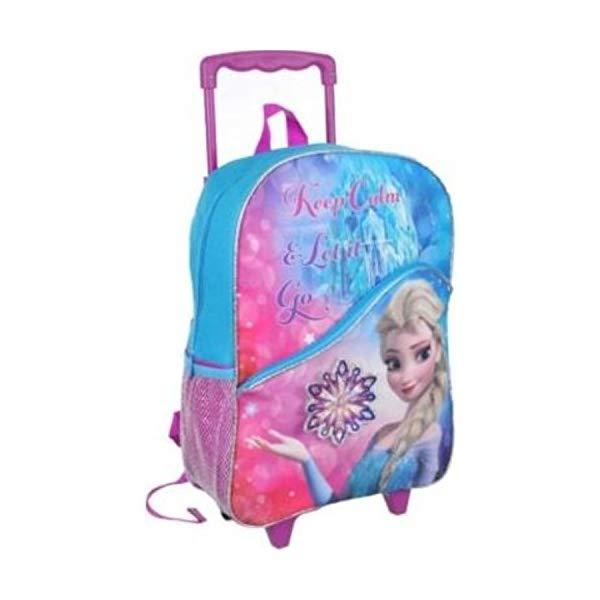 アナと雪の女王 エルサ リュック バックパック バッグ かばん 鞄 ディズニー キッズ 子供 Disney Frozen Large Rolling Backpack 16