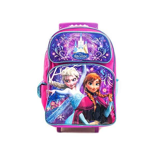 アナと雪の女王 エルサ アナ リュック バックパック バッグ キャリーケース コロコロ 旅行 かばん 鞄 ディズニー キッズ 子供 Frozen Backpack Anna & Elsa 16 Inch Rolling