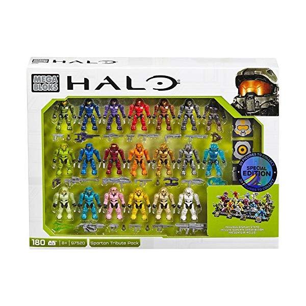 メガブロック メガコンストラックス ヘイロー Mega Construx Halo Exclusive Spartan Tribute Set (97520)