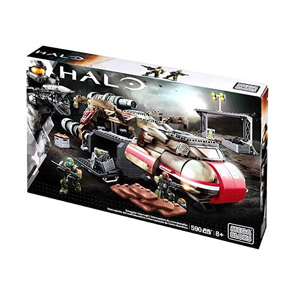 メガブロック ヘイロー Mega Bloks Halo Smuggler Intercept Set