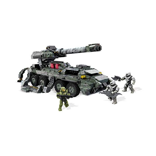 メガブロック ヘイロー Mega Bloks DPJ94 Toy - Halo Wars 2 - UNSC Kodiak Siege Cannon 868 Piece Figure Playset