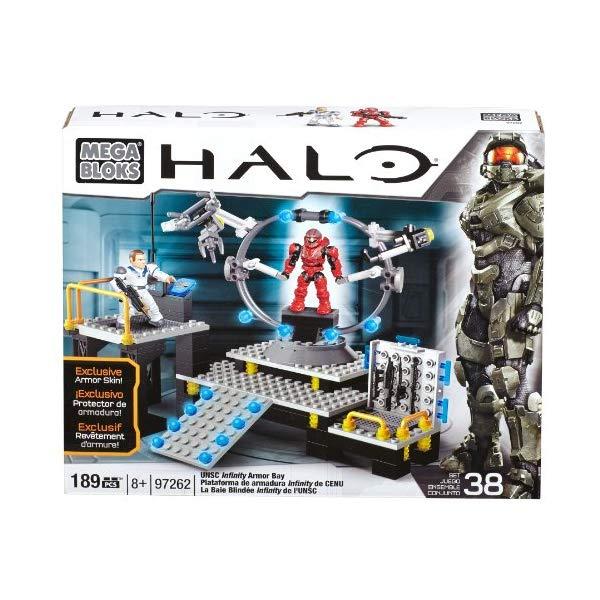 メガブロック ヘイロー Mega Bloks Halo UNSC Infinity Armor Bay